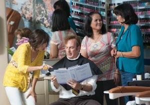 Bob Odenkirk as Saul Goodman - Better Call Saul _ Season 1, Episode 4 - Photo Credit: Lewis Jacobs/AMC