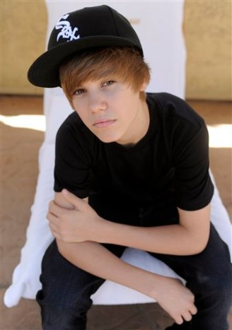 Singer Justin Bieber poses for a portrait in West Hollywood, Calif., Thursday, May 6, 2010. (AP Photo/Chris Pizzello)